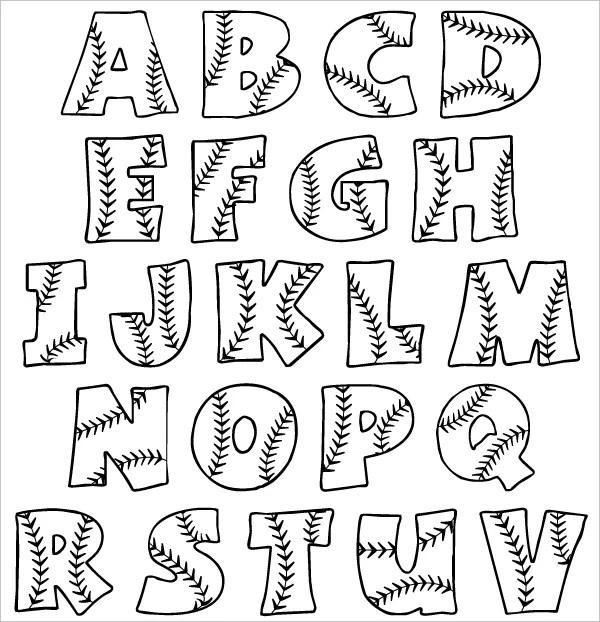 27+ Enticing Bubble Letters Free  Premium Templates