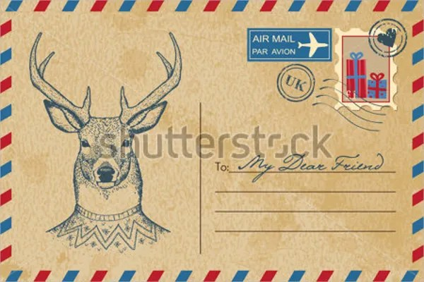 Postcard Template If You Want A Vintage Look For Your Postcard You - postcard templates free