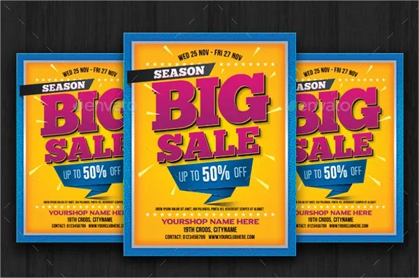 16+ For Sale Flyers - Free PSD, AI, EPS Format Download Free