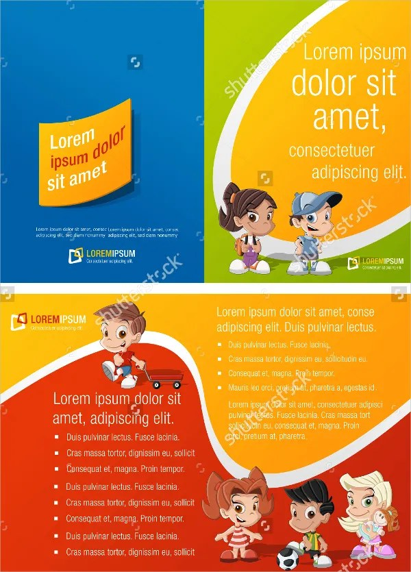 26+ Preschool Brochure - Free PSD, AI, EPS Format Download Free