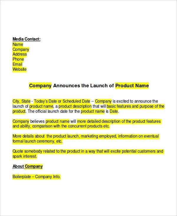 Invitation Letter New Product Launch   Create professional resumes ...