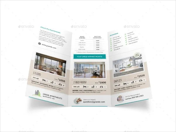 15+ Apartment Brochure Template - Free PSD, AI, EPS Format Download