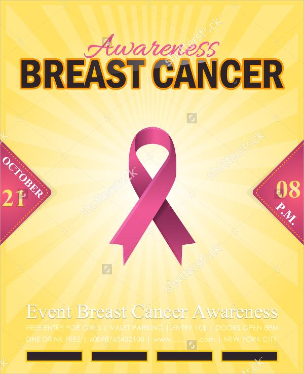 15+ Breast Cancer Flyer Design Templates - PSD, AI, Vector EPS