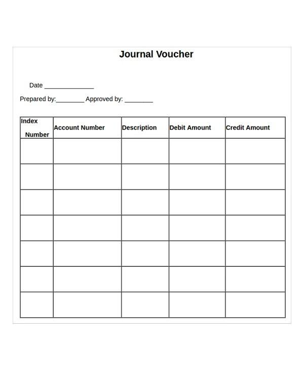 sample vouchers templates - Boatjeremyeaton