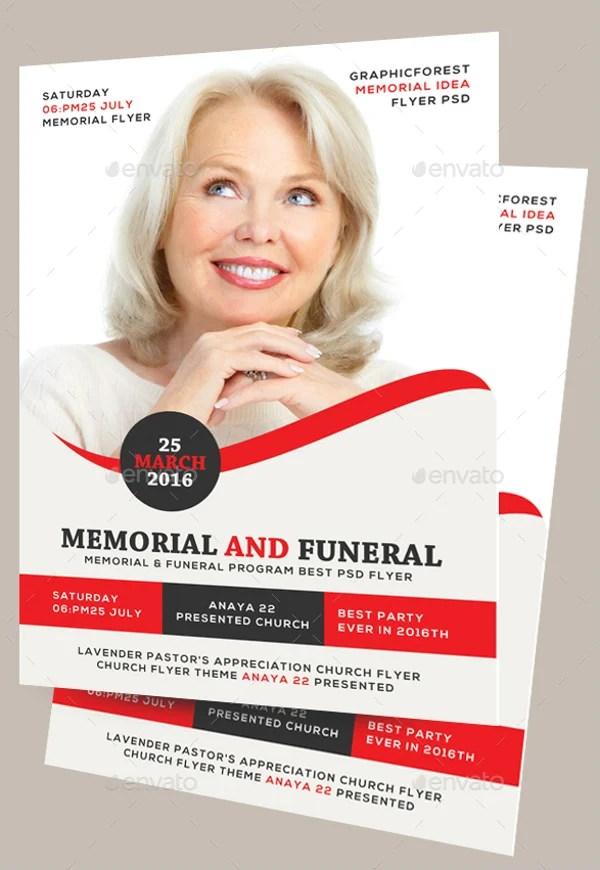 funeral ceremony flyers - Keniganamas