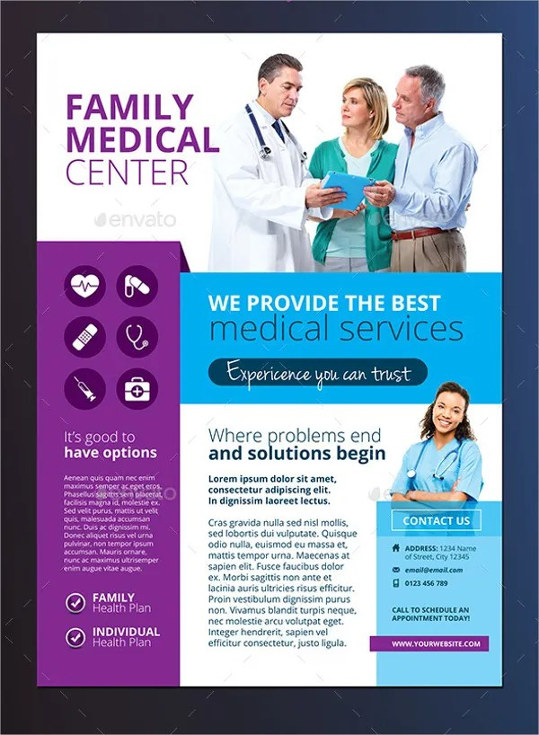 19+ Medical Flyer Templates - Free PSD, AI, EPS Format Download - advertising flyer template