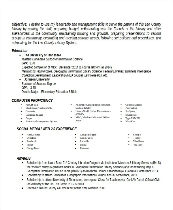 Principal Resume Template - 5+ Free Word, PDF Document Downloads - principal resume