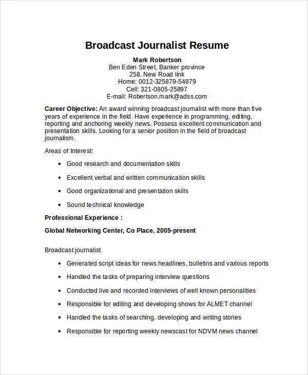 sample journalist resume - Maggilocustdesign - Court Reporter Resume Samples