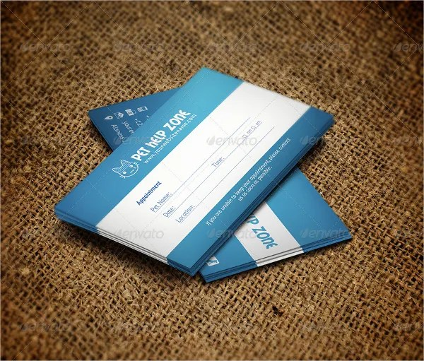 Sample Appointment Card Template appointment reminder postcards - sample appointment card template