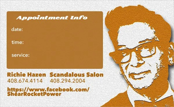 9+ Appointment Card Templates - Free PSD, AI, EPS Format Download - sample appointment card template
