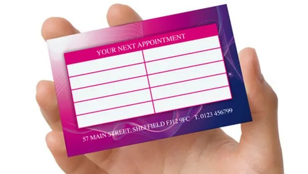 9+ Appointment Card Templates - Free PSD, AI, EPS Format Download