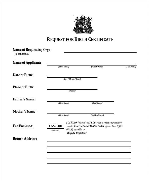21+ Sample Baptism Certificate Templates - Free Sample, Example