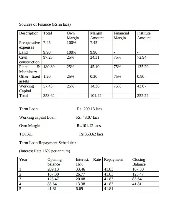 8+ Project Report Templates - Free PDF, Word Documents Download - project report template word