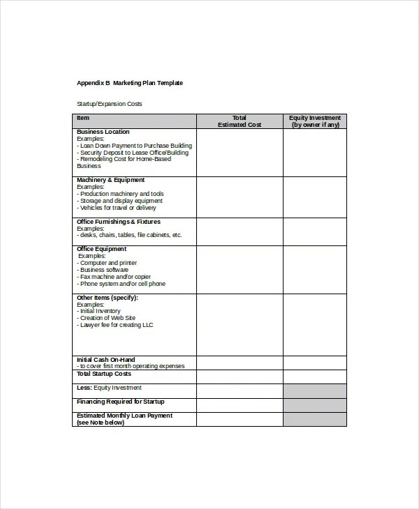 Marketing Schedule Template \u2013 8+ Free Word, Excel PDF Documents
