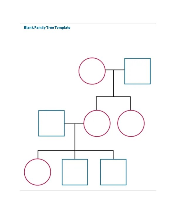 Family Tree Template - 8+ Free Word, PDF Document Downloads Free - blank family tree template