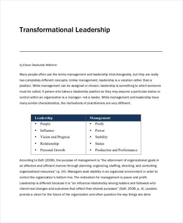 8+ Leadership Philosophy Examples Free  Premium Templates