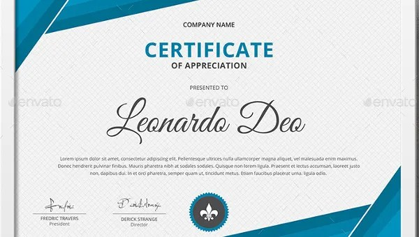 Certificate of Recognition Template - 15+ Free Word, PDF Documents