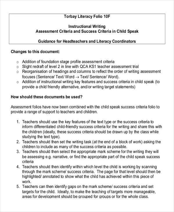 work instruction template word