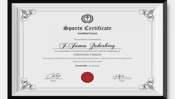 31+ Sports Certificate Templates - Word, PDF, AI, InDesign Format