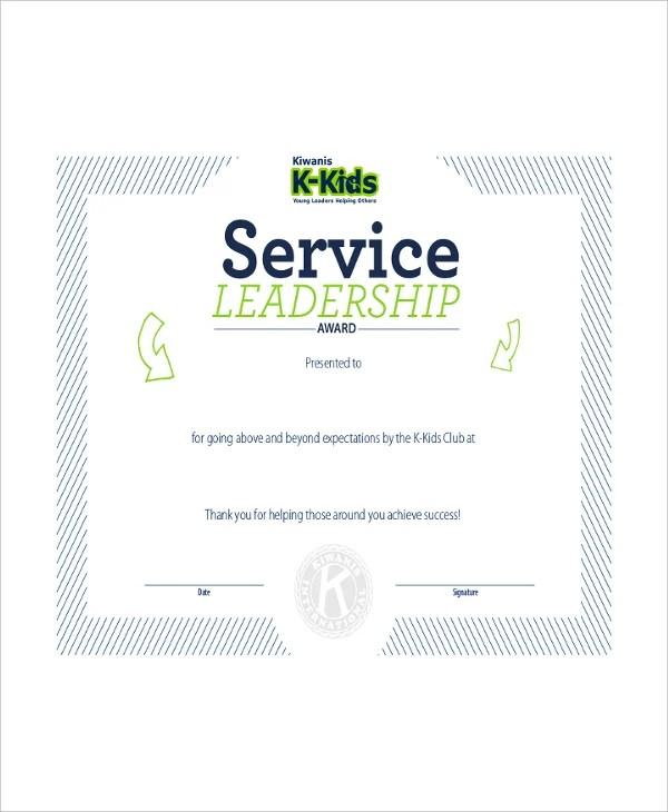Leadership Certificate Template - 8+ Free Word, PDF, PSD Format
