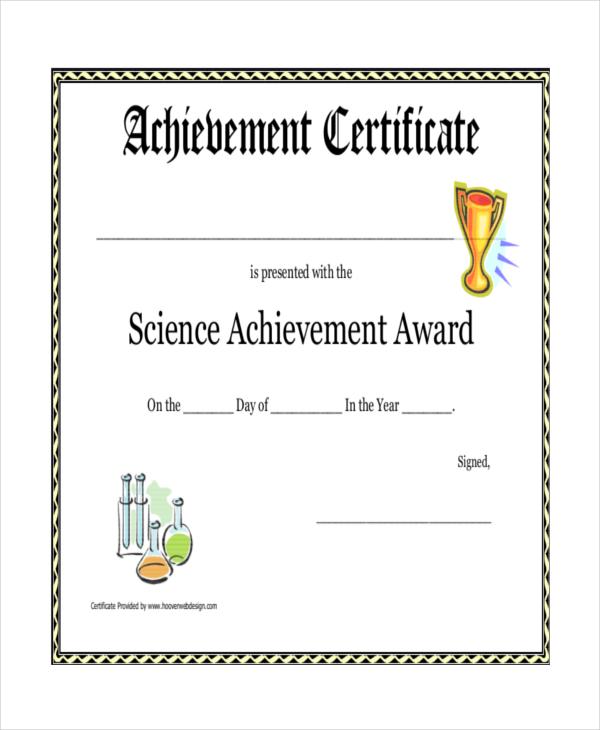 Printable Certificate Template - 21+ Free Word, PDF Documents - printable certificates of achievement