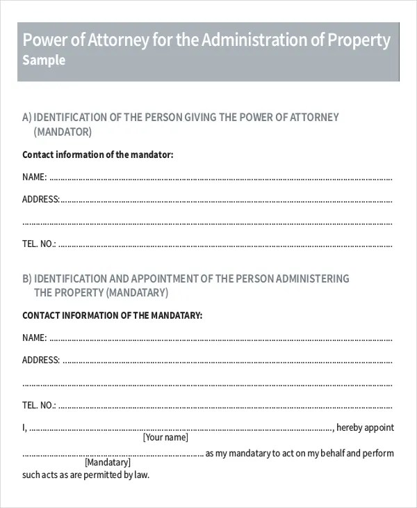 15+ Power of Attorney Templates - Free Sample, Example, Format