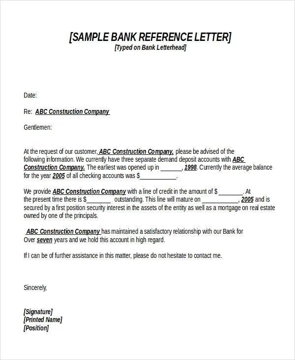 18+ Reference Letter Template - Free Sample, Example, Format Free
