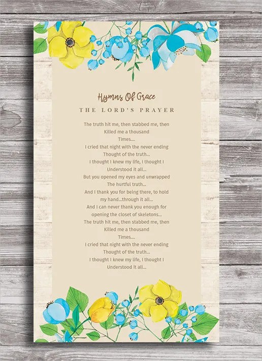 11+ Funeral Card Templates - Free PSD, AI, EPS Format Download - prayer card template free