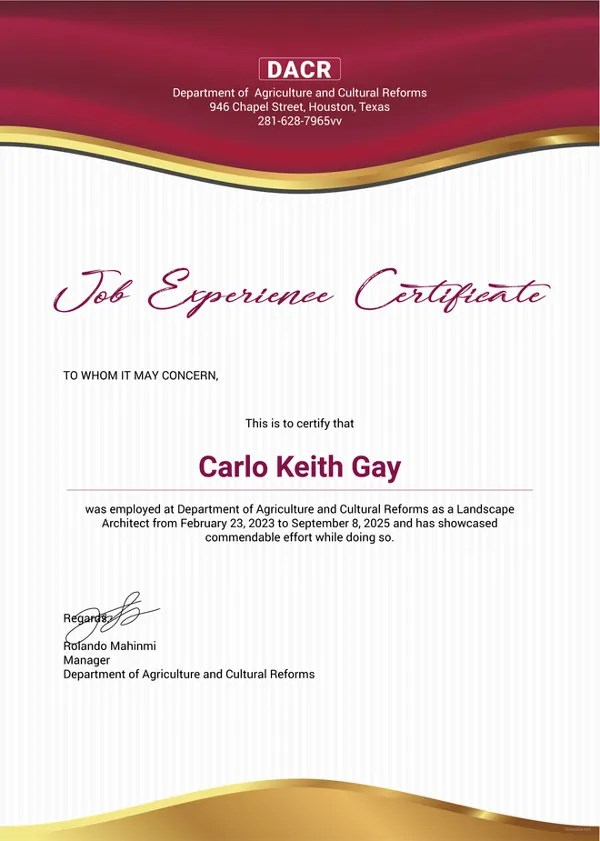 experience certificates templates - Alannoscrapleftbehind - experience certificate templates