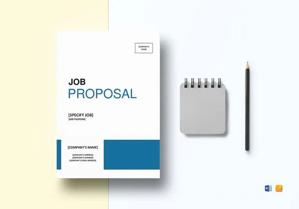 Job Proposal Template - 18+ Free Word, PDF Document Downloads Free