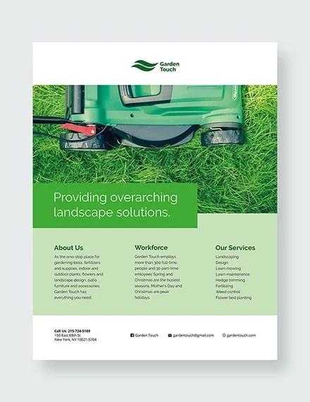 29+ Lawn Care Flyers - PSD, AI, Vector EPS Free  Premium Templates