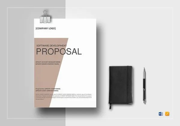 Job Proposal Template - 18+ Free Word, PDF Document Downloads Free