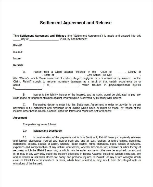 Legal Settlement Letter Template – Union Resignation Letter