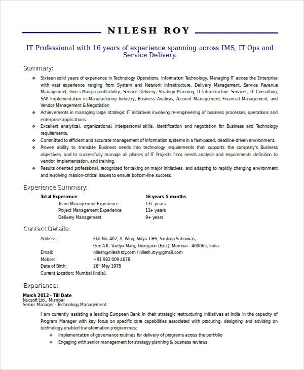 technical resumes - Ozilalmanoof