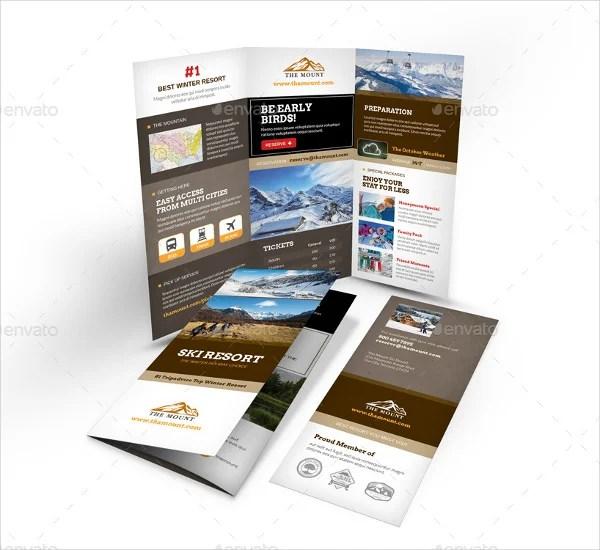 Brochure Examples For Ski Resorts