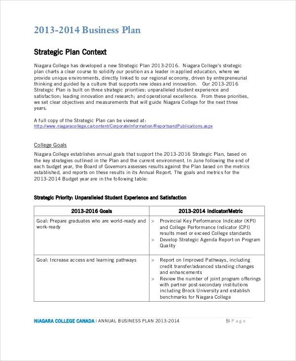 13+ Business Plans - Free Sample, Example, Format Free  Premium