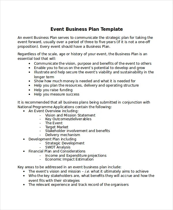 13+ Business Plans - Free Sample, Example, Format Free  Premium
