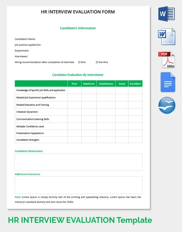 8+ Free HR Forms  Template Freebies Free  Premium Templates