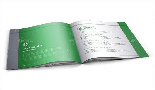 Small Booklet Template | colbro.co