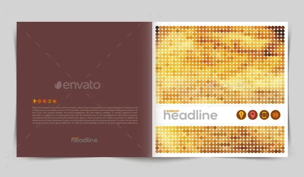 15+ Great Examples of Professional Booklet Designs - PSD, AI - free pamphlet design