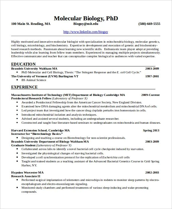 cv vs resume pdf