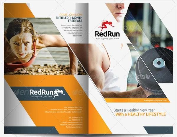 19+ Sports  Fitness Brochure Templates - Free PSD, AI, Vector EPS - sports brochure
