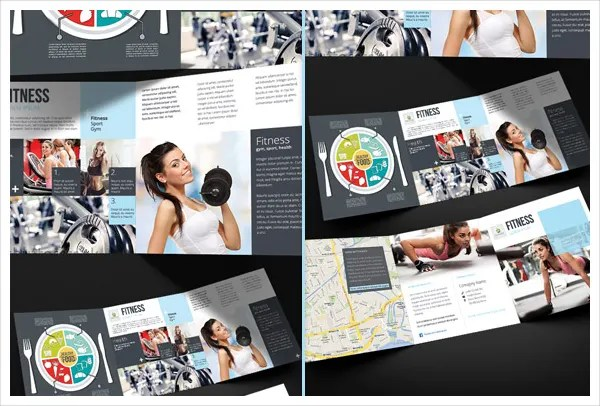 19+ Sports  Fitness Brochure Templates - Free PSD, AI, Vector EPS - Fitness Brochure Template