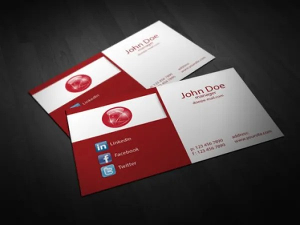 22+ Folded Business Cards - PSD, AI, Vector EPS Free  Premium
