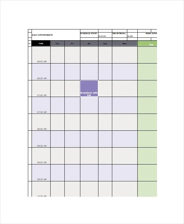 Office Calendar Template - 7+ Free Word, PDF Documents Download