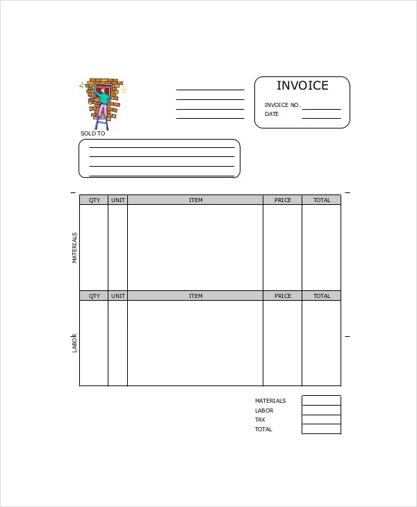 Repair Invoice Template - 8+ Free Word, Excel, PDF Documents