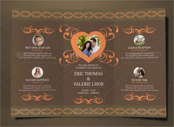 Quarter Fold Invitation Template cvfreelettersbrandforesight