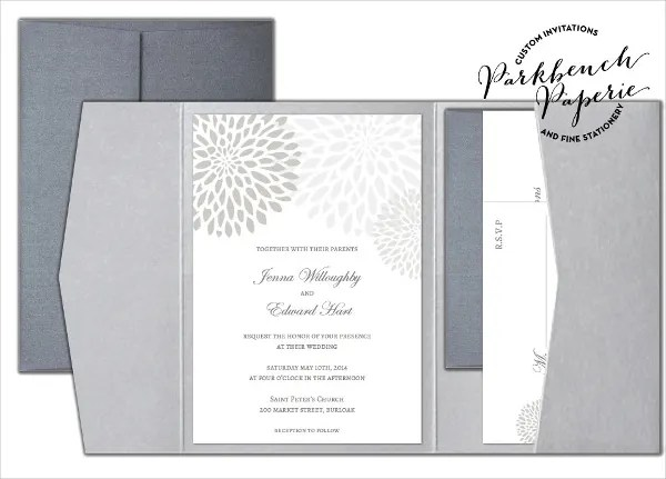 18+ Folded Invitation Templates Free  Premium Templates