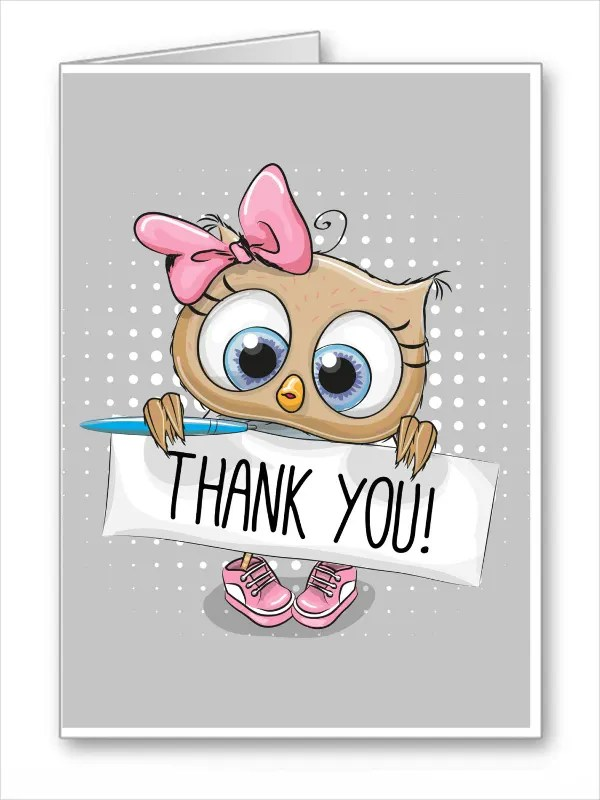 11+ Funny Thank You Cards - Free EPS, PSD Format Download Free