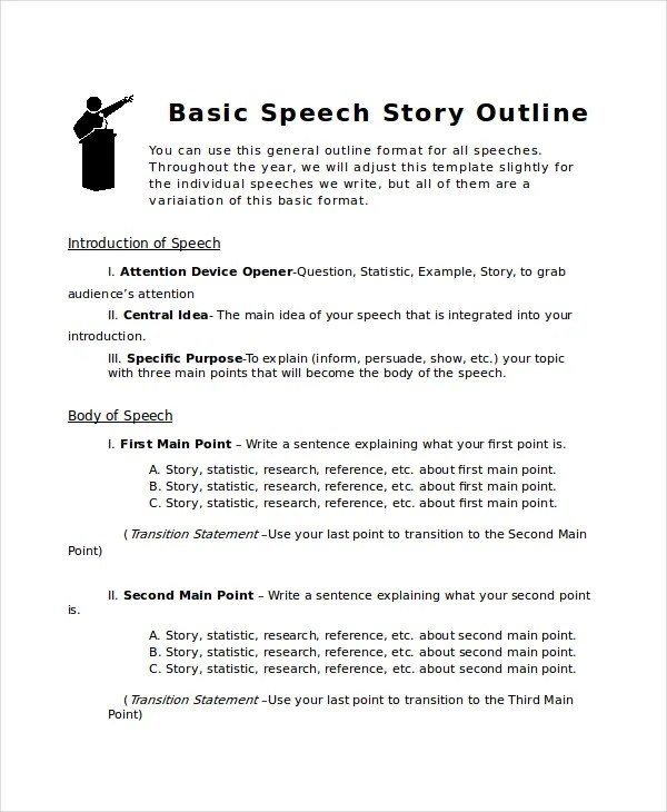 Story Outline Template - 6+ Free Word, PDF Document Download Free